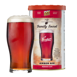 Coopers Family Secret Amber Ale (1.7kg)